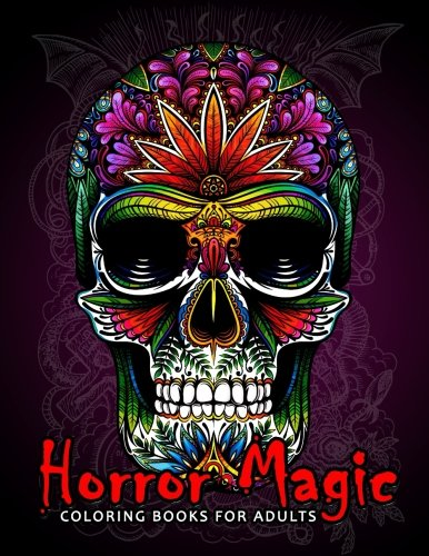 Horror Magic Coloring books for adults: A Gift for people who love Black Magic and Halloween for $<!--$6.99-->