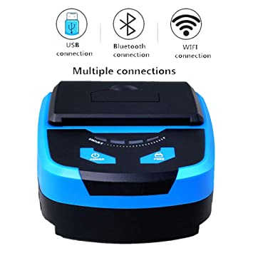 HM2 Mini Impresora térmica portátil Impresora de Etiquetas ...