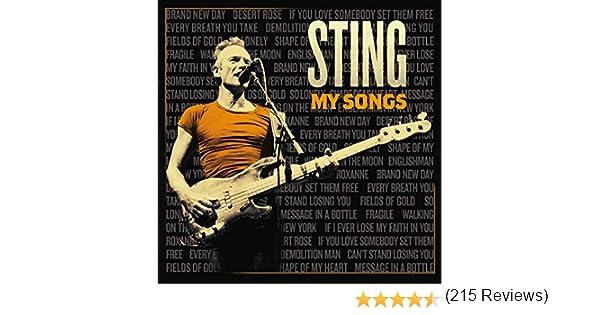 MySongs : Sting: Amazon.es: Música