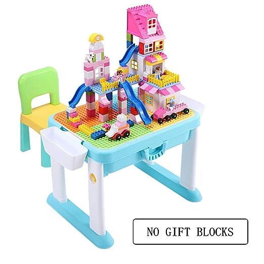 Table & Chair Sets Juego de Mesa y sillas para niños, Bloques de ...