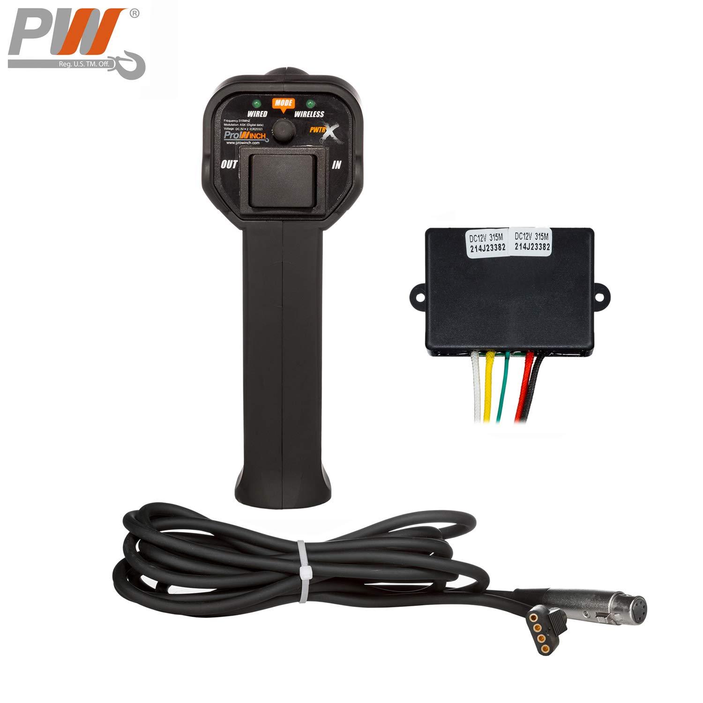 Wire and Wireless Remote Control 24V