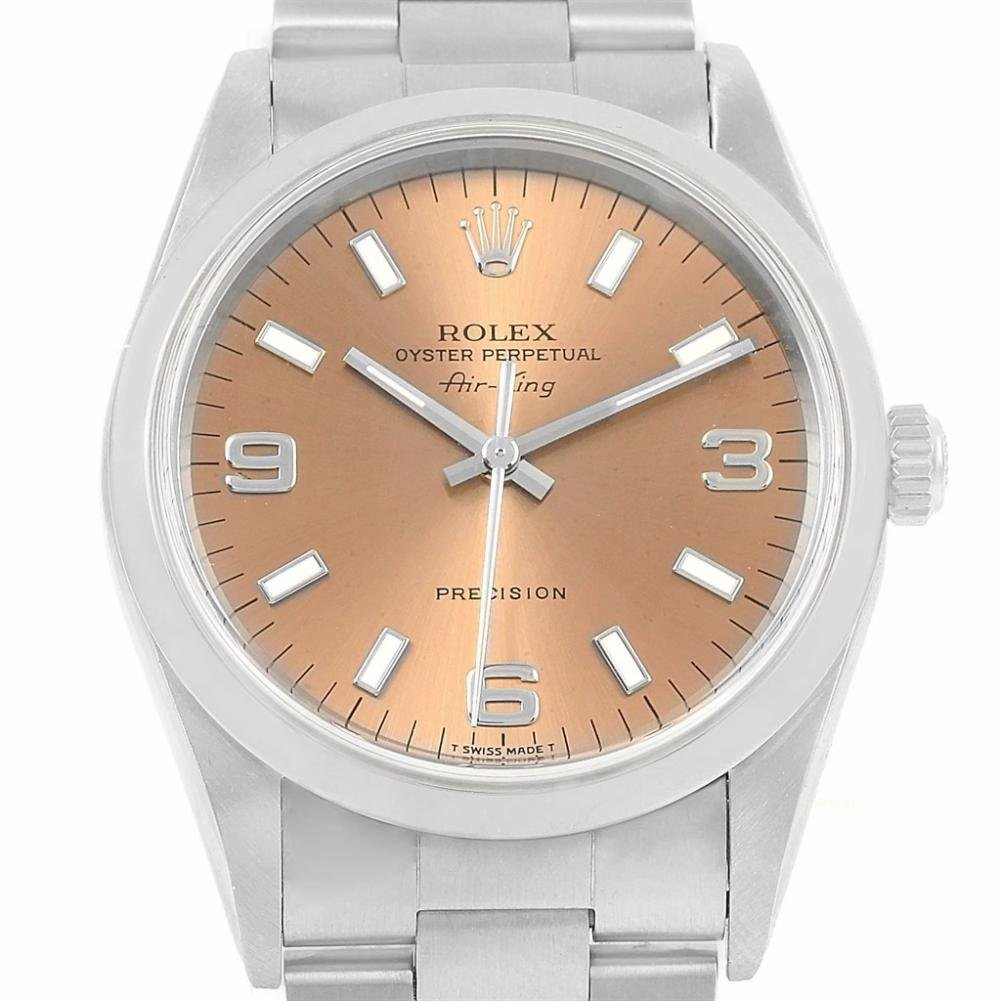 Rolex Air-King automatic-self-wind womens Watch 14000 (Certified Pre-owned)