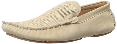Steve Madden Men's Stitchh Slip-On Loafer, Camel Suede, ...