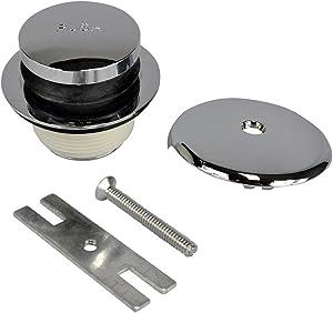 Danco 88981A Touch-Toe Bath Drain Trim Kit, Chrome