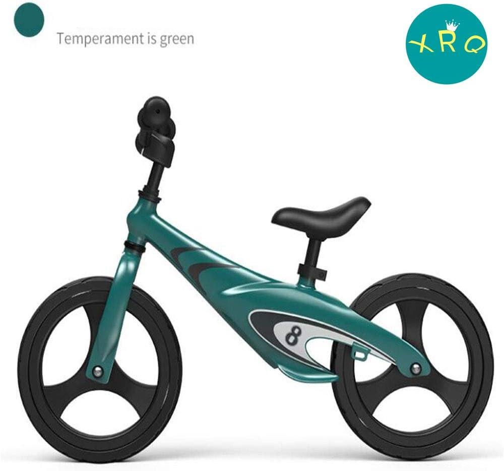 ZLY Bicicleta De Equilibrio Sin Pedales para Niños De Aleación De Magnesio De 12