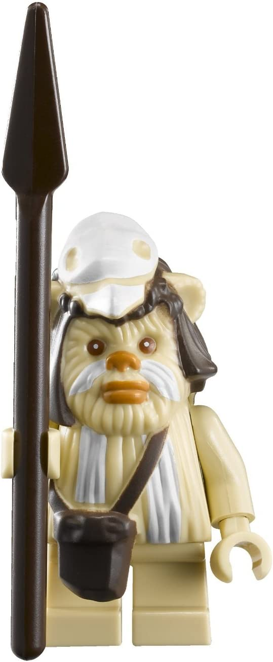 LEGO Star Wars Minifigure - Logray Ewok with Spear (7956)