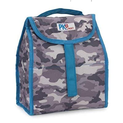 PackIt PK2 Freezable Lunch Bag ( Blue Camo ): Toys & Games