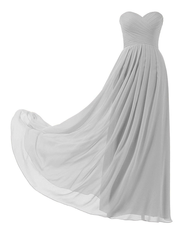 Bustier Robe Mariage Huini D'honneur Femme Longue Demoiselle n0kZwNX8OP