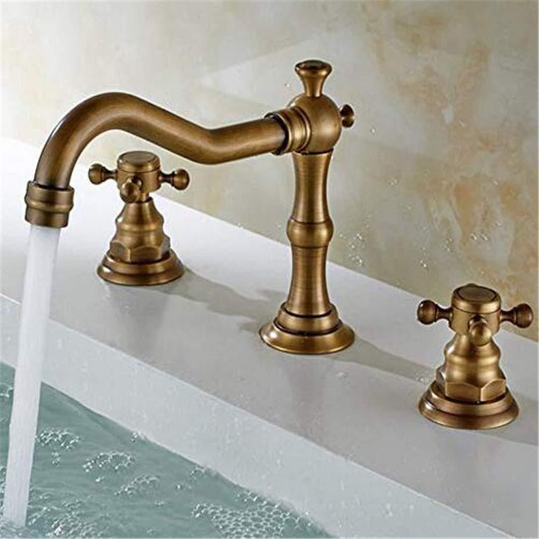 Grifos de lavabo YSRBath Modernos Grifos del Fregadero del Cuarto de baño Antiguas de bambú batidora de Caliente y frío Cocina Mezclador Grifos de Lavabo