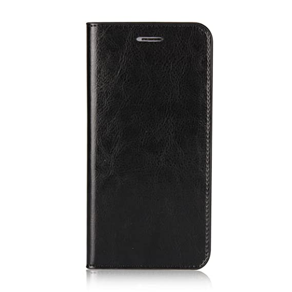 Xiaomi Mi A1/5X Wallet Case, Jaorty Genuine Leather Folio Flip Case Cover  Book Design with Kickstand Feature with Card Slots/Cash Compartment for