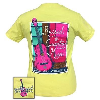 a2e83d80e Girlie Girl Originals Women's Country Music T-Shirt Corn Silk Large