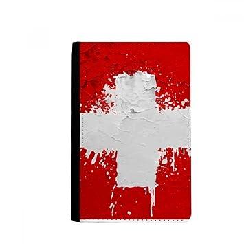 e059b124dd5ae beatChong Schweiz Zusammenfassung Flagge Muster-Pass-Halter Travel Wallet  Abdeckungs-Fall Karten-