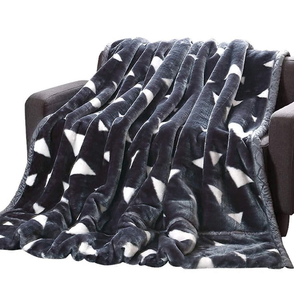 多機能毛布、暖かい快適な二重層両面学生毛布寮の部屋の世帯の屋外の車のソファー毛布を保ちなさい (サイズ さいず : 200*230CM-3.5KG) B07MY4L7W1  200*230CM-3.5KG