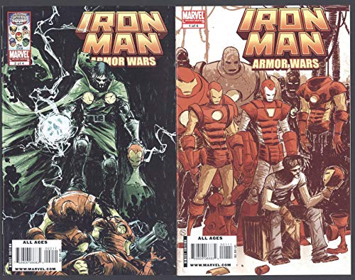Iron Man Armor Wars #1-4 NM Complete Set Full Run Marvel Comics 2009 CBX36