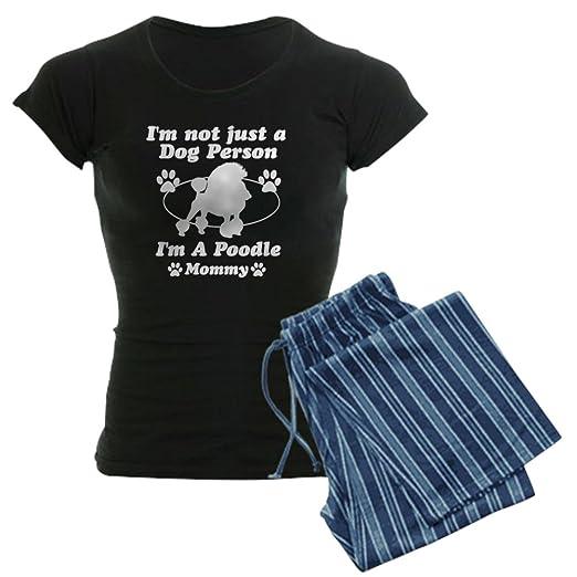 Amazon.com  CafePress - Poodle Mommy Women s Dark Pajamas - Womens Novelty  Cotton Pajama Set 13de4c19f