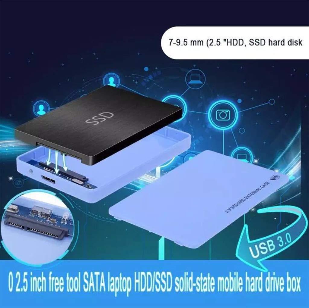 Carcasa de Disco Duro USB 3.0 Externo, Adecuado for Disco Duro ...