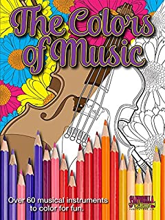 Music Coloring Book for Adults Color My Music, Fill My Passion ...