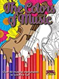img - for Colors of Music - A Musical Coloring Book book / textbook / text book