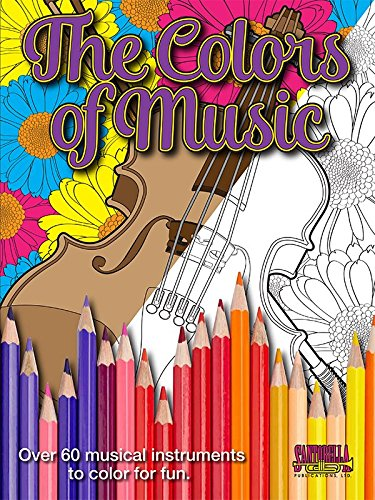 Colors of Music - A Musical Coloring Book