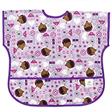 Bumkins Junior Bib Disney Purple Doc