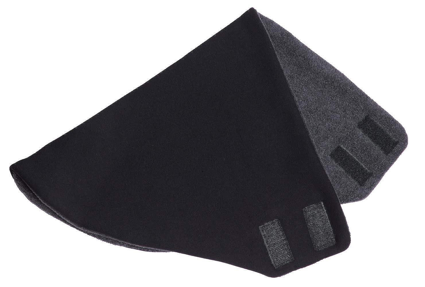 Hilltop Bandolera Polar Bandana Design con polar//bufanda triangular de doble capa con velcro//bufanda