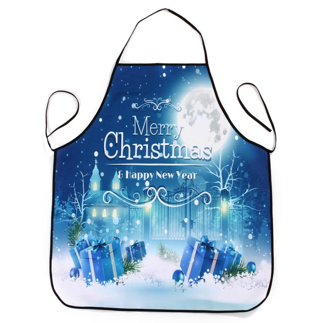 Christmas apron,cast power, lovely retro design, woman, girl, cooking, baking, salon, apron, vintage apron, perfectly waterproof BBQ grilling apron b cast power Gusspower
