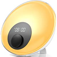 Gadgy ® Despertador luz amanecer natural l Wake