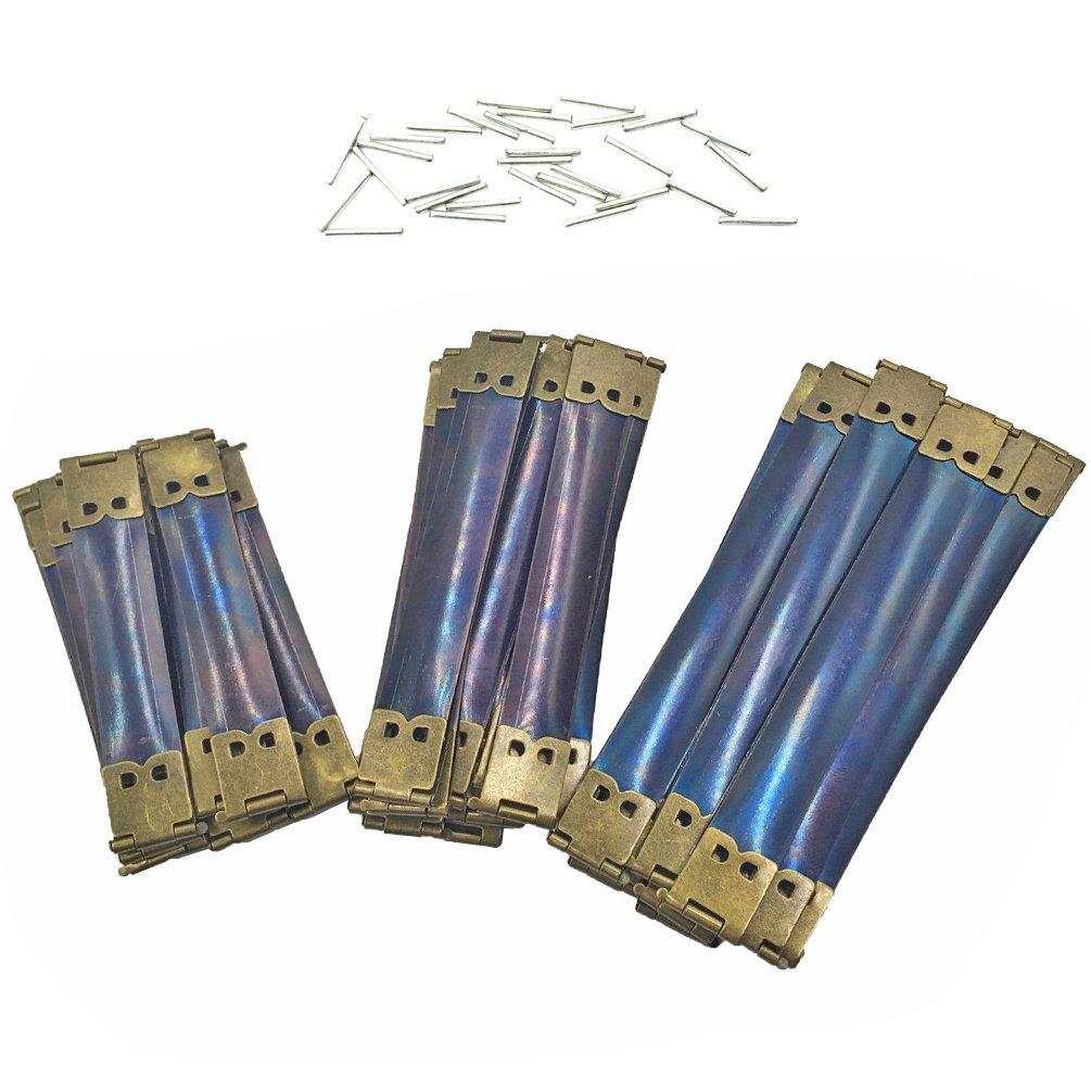 ABOSS 30Pcs 3.15 Inch 3.94 Inch 4.72 Inch Metal Internal Flex Frame Kiss Clasp Bulk for DIY Craft Purse Bag Wallet Sewing Making 4336839666