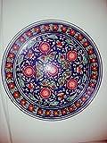 Uzbek Pottery Handmade Traditional Dish Plate ''Lagan''