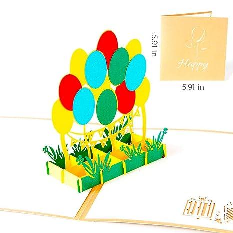 Amazon.com: Tarjeta postal de felicitación de cumpleaños ...