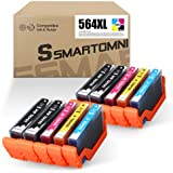 S SMARTOMNI Compatible 564 XL Ink Cartridge Replacement for HP 564XL for HP Photosmart 7520 7510 7525 6515 6510 5520 5510 5514 4620 3520 D7560 B8550 B209a C410 C6380 Printer 10-Pack (4K/2C/2M/2Y)