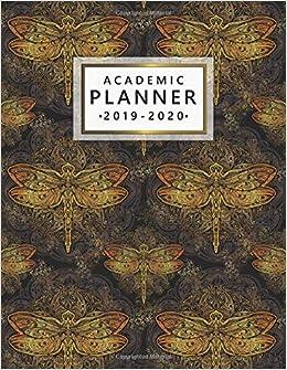 Amazon.com: Academic Planner 2019-2020: Golden Boho Esoteric ...