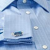 Deakin and Francis Mens Golf Bag Cufflinks - Blue