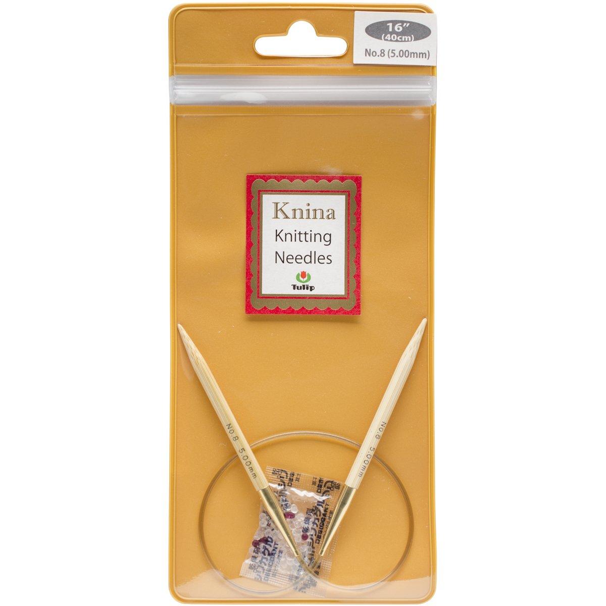 Tulip Needle Company 16 Knina Knitting Needles, 7/4.5mm by Tulip Needle Company B00USPO7D8