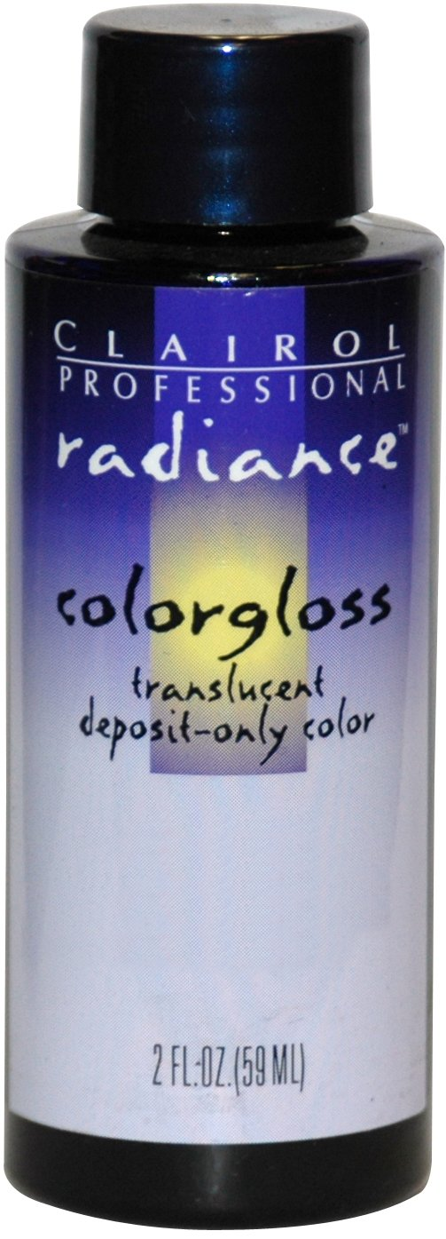 Clairol Radiance Colorgloss Semi Permanent Hair Color - #2A - Dark Ash Brown 2 oz. (Pack of 6)