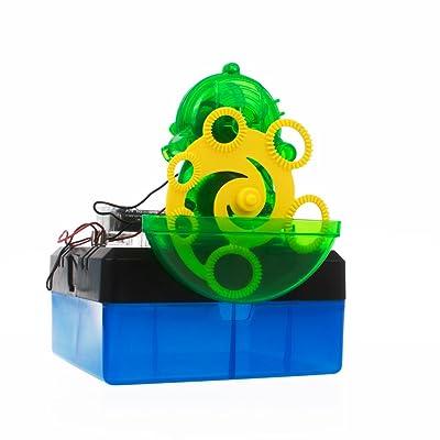 Juguetrónica - Bubble Machine, kit de electrónica para niños - Juguete STEM: Juguetes y juegos