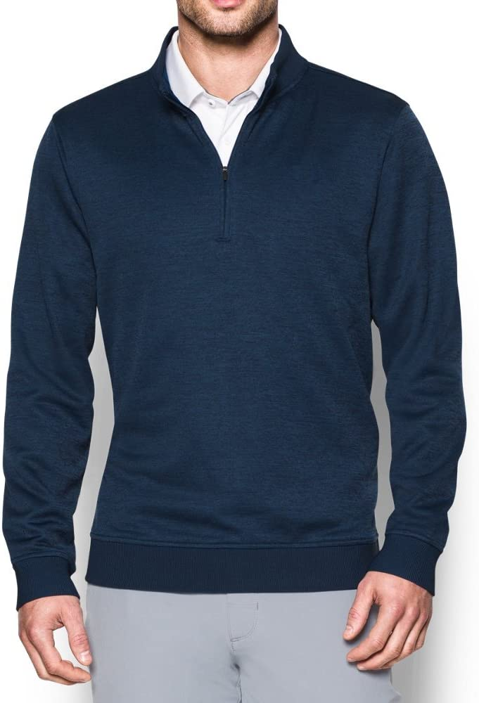 308aec411 Amazon.com: Under Armour Men's UA Storm SweaterFleece 1/4 Zip, (408 ...