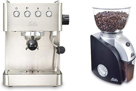 Solis Barista Gran Gusto 1014 - Set Cafetera expresso automática + ...