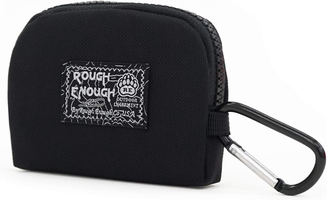 Canvas Cash Coin Purse,Black Moon Print Make Up Bag Zipper Small Purse Wallets