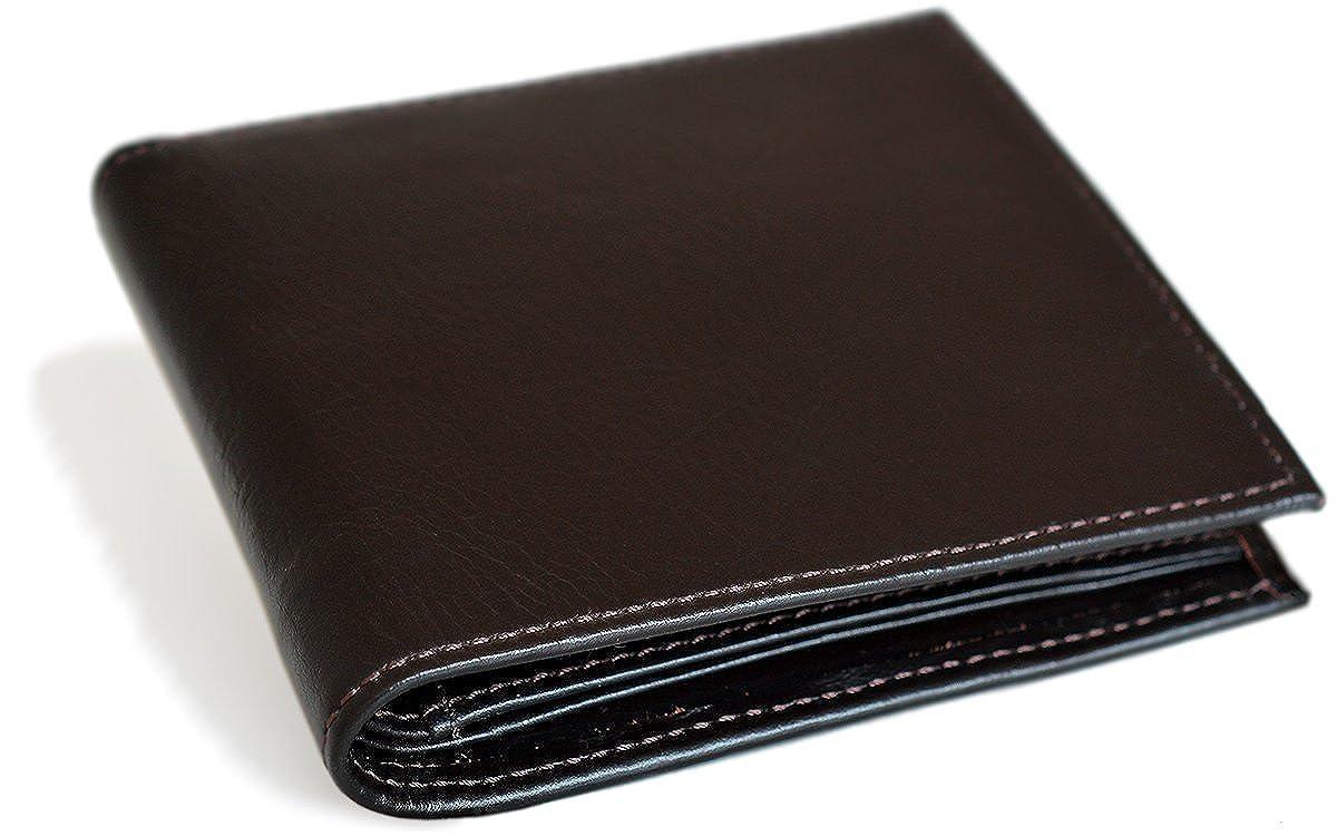 (タバラット フラット) TAVARAT FLAT 二つ折り財布 【左利き用 本革 BOX型小銭入れ 全5色 】 TAV-025L B016JI6F9Q  ダークブラウン
