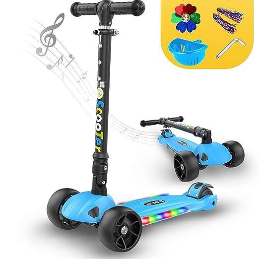 ZLL Kick plegable para niños Scooter-Scooter Patadas ...