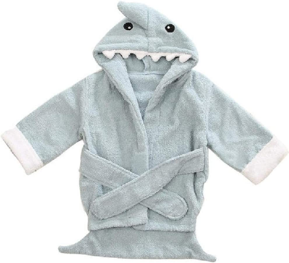 Hooyi Baby Bath Towels Mouse Newborn Blanket Bedding Swaddle Animal Bebe Bathrobe Hooded Bathing Towel Baby Stuff 110cm Grey, M