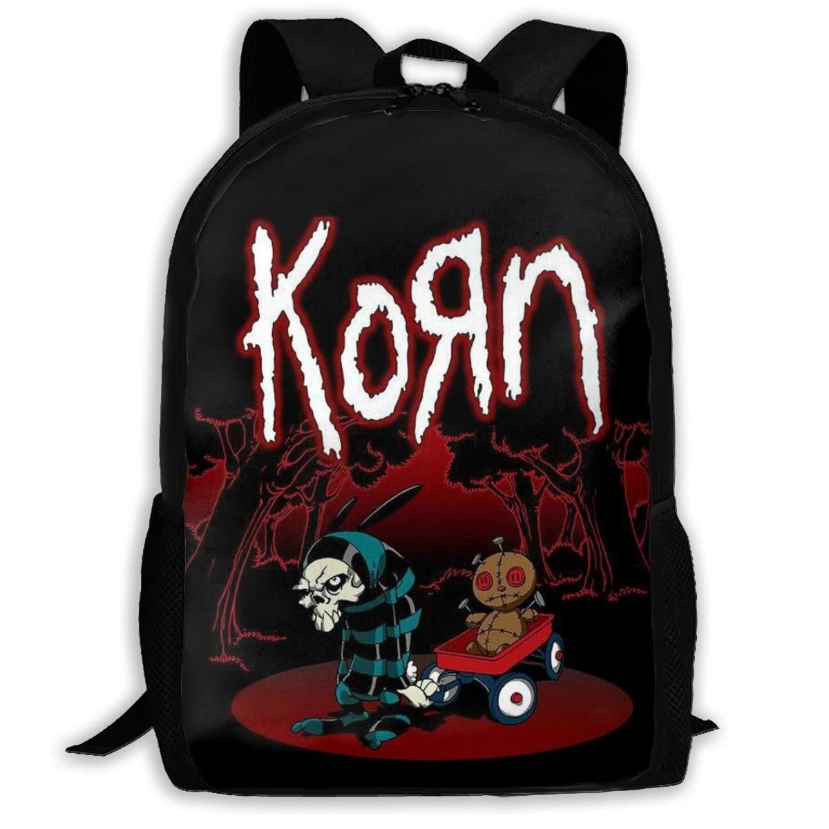 ZJXL Korn Issues スクールブックバッグ カレッジバックパック アウトドアトラベルリュックサック カジュアルデイパック One Size tyeYosspllo-aqdldmr-30701415 B07RMJH566 ブラック4 One Size