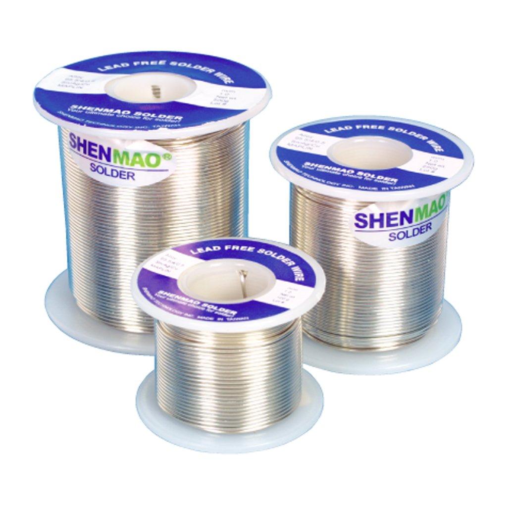 Lead-Free Alloy 4% Silver Tin Copper Flux Solder Wire Roll 100g 1mm ...