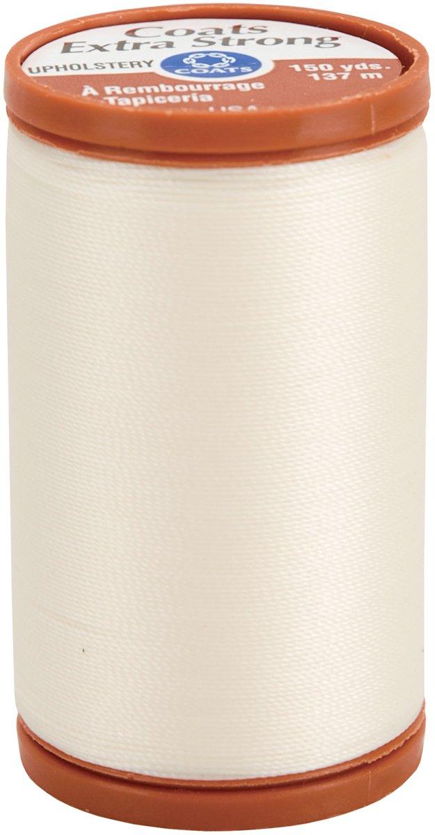 Coats & Clark - Filo per tappezzeria Extra Forte, 137,2m, Naturale S964-8010