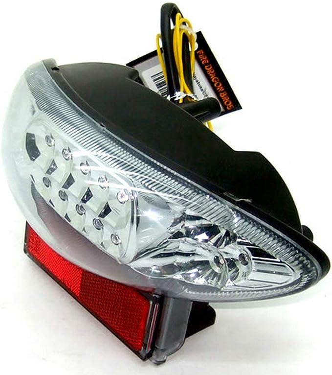 GUAIMI Integrated LED Tail Light Turning Signal Blinker For Suzuki Hayabusa GSX1300R 1999-2007 Katana GSX600 GSX600F Katana GSX750 GSX750F 2003-2006