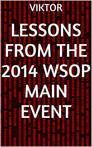 Lessons From the 2014 WSOP Main Event Pdf