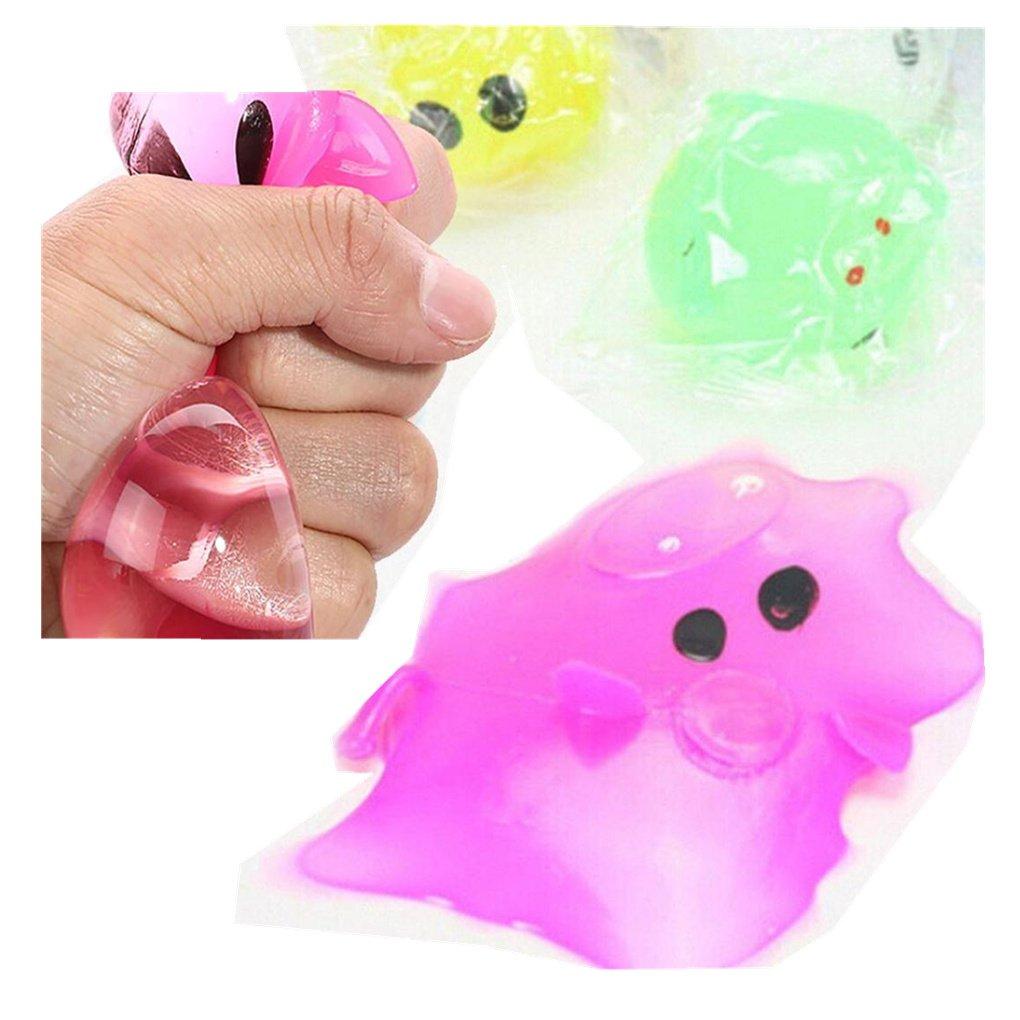 WINWINTOM 1PC Anti-estrés Descompresión Splat Ball Vent Toy Smash Varios estilos Juguetes de Cerdo
