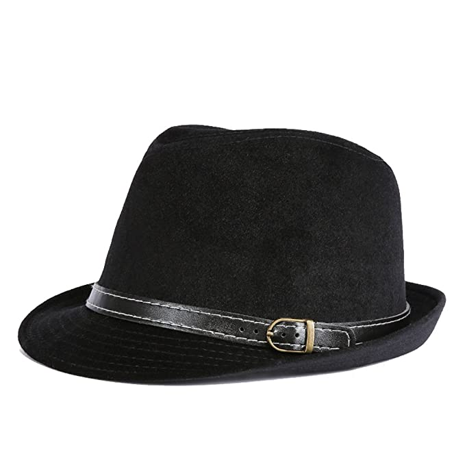 Mens Manhattan Fedora Hat Soft Comfortable Classical Cap