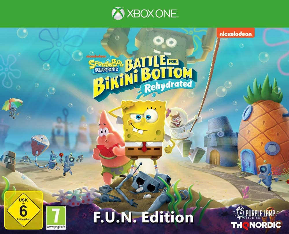 Spongebob SquarePants: Battle for Bikini Bottom Rehydrated ...